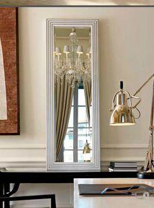 Dot 280, Specchio con cornice geometrica