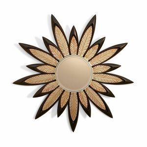 FLORA / specchiera, Specchiera dal design floreale