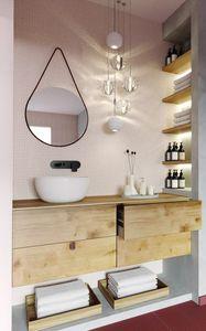 Goccia, Specchio a forma di goccia ideale per ambienti moderni