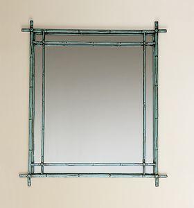 HF2011MI, Specchiera quadrata con cornice