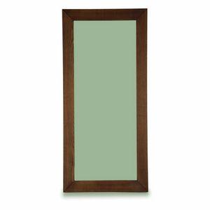 Kuba Mirror, Specchiera con cornice in legno