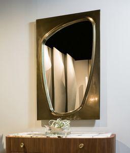 LAPETO specchiera GEA Collection, Specchiera con cornice bronzata