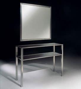 MADISON 3292 SPECCHIERA, Specchiera classica in metallo, per ambienti residenziali