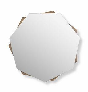 Mirage specchio, Specchiera dal design geometrico
