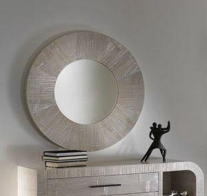 Specchio Kristal, Specchio rotondo in stile etnico