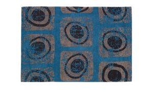 Blue Macro, Tappeto rettangolare moderno