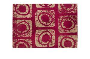 Red Macro, Tappeto decorativo rettangolare