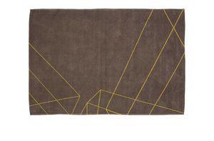 Yellow Geometric, Tappeto con disegno geometrico