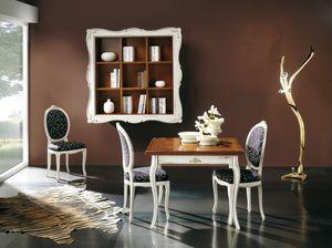 Napoleone tavolo allungabile, Tavolo quadrato allungabile