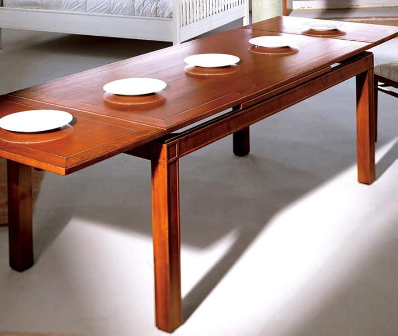 Tavolo allungabile per sala da pranzo classica   IDFdesign
