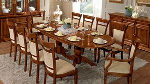 Treviso tavolo ovale, Tavolo ovale, per sala da pranzo classica