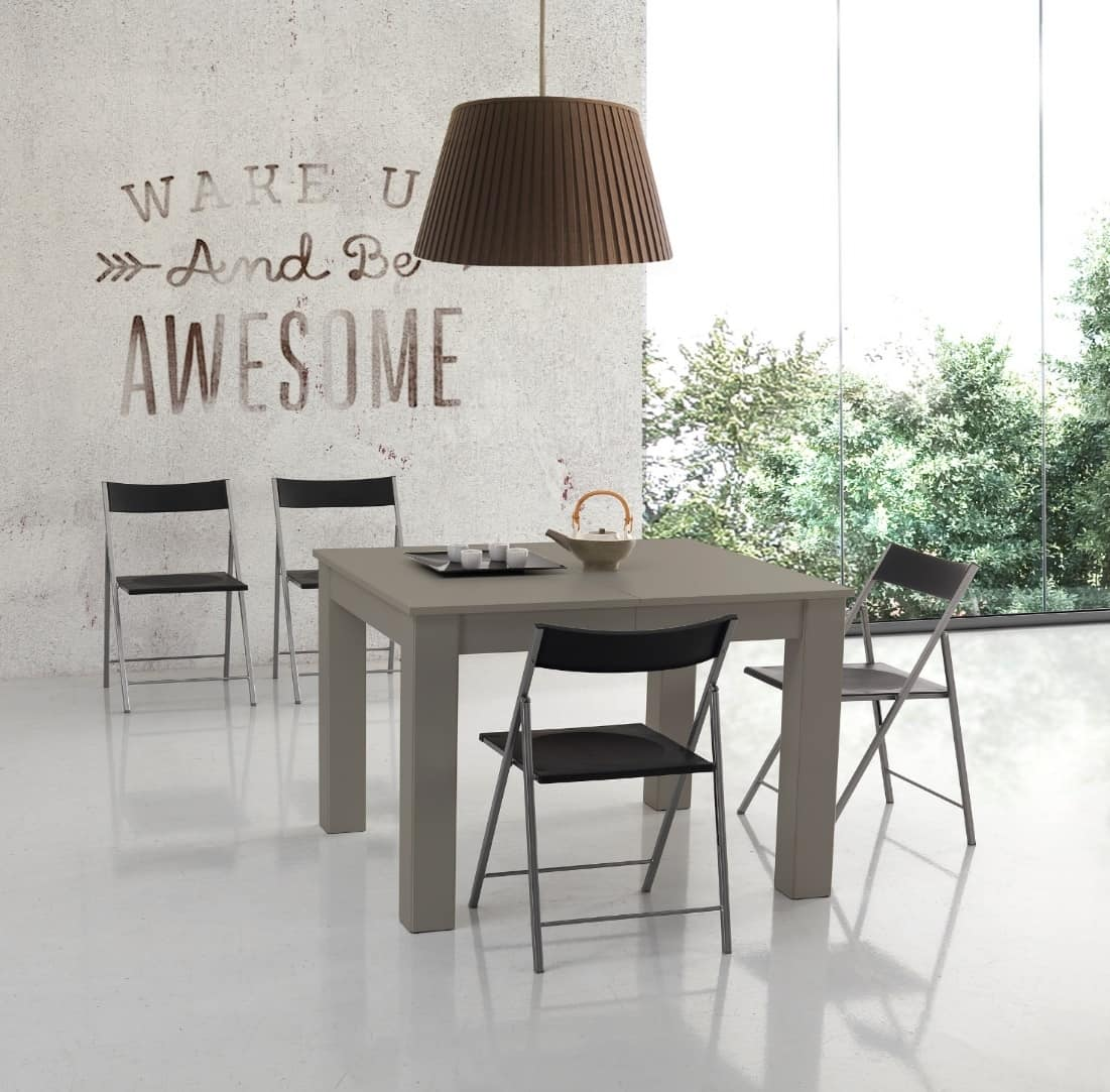 Tavolo Da Pranzo 3 Metri tavolo quadrato allungabile fino a tre metri | idfdesign