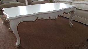 3500 TAVOLINO, Tavolino laccato bianco, in stile classico