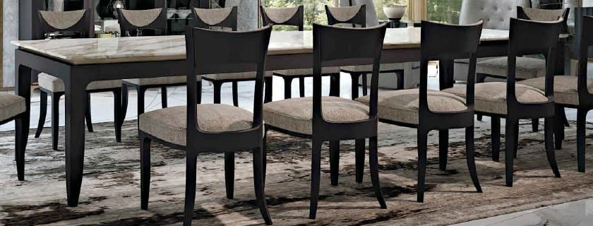 Tavolo da pranzo con piano in quarzo   IDFdesign