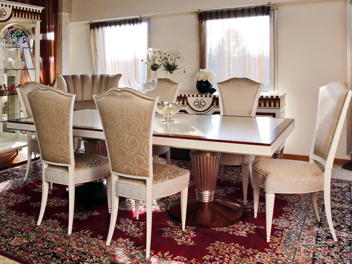 Tavolo da pranzo, stile classico contemporaneo  IDFdesign