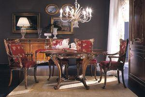 Edenica tavolo, Tavolo da pranzo, classico di lusso