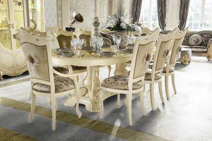 Madame Royale tavolo ovale, Tavolo da pranzo ovale