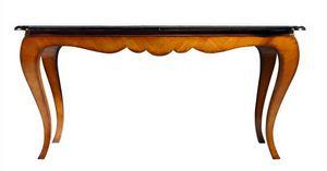 Reni RA.0671, Tavolo Chippendale allungabile in ciliegio