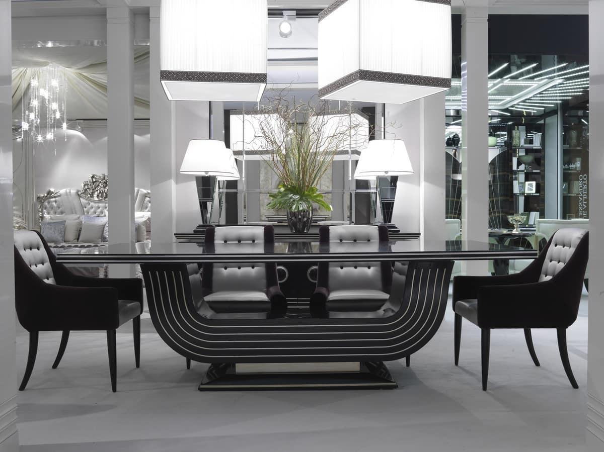 Tavoli Eleganti Sala Da Pranzo elegante tavolo da pranzo, per sale lussuose | idfdesign