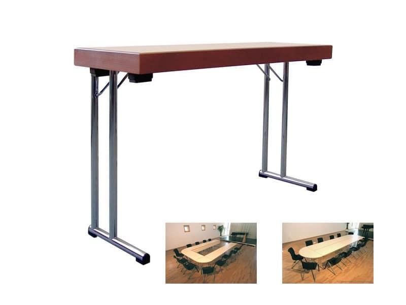 Conference 1845, Tavolo pieghevole per scuola, sala riunioni o mensa