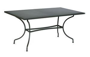 Ascot, Tavolo per esterno in ferro zincato