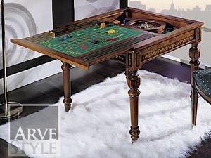 Canaletto tavolo da gioco, Tavolo da gioco con piano intercambiabile