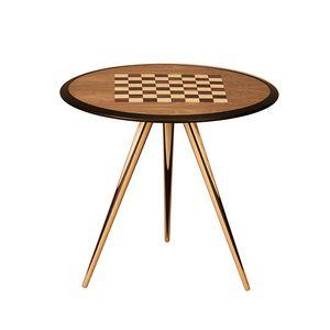 Carambola dama 5730/F, Tavolino da gioco  con scacchiera