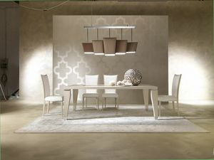 Dahlia 360T, Tavolo in legno, design elegante