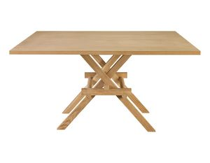 Leonardo 5710/F, Tavolo in legno ispirato a Leonardo da Vinci