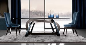 Loop Art. 302-RV1S, Tavolo dall'elegante base