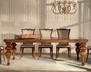 Verona tavolo, Tavolo da pranzo in legno