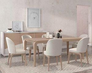 Desi, Elegante tavolo in legno