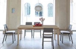 Fold, Tavolo in legno massiccio di frassino