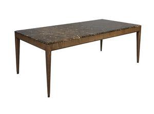 Italo 5728/F, Tavolo con piano in marmo