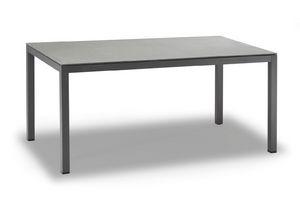 TAVOLO MESSICO, Tavolo in alluminio verniciato colore antracite
