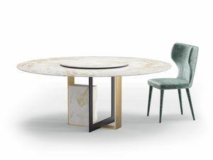 Moore, Tavolo con piano in marmo