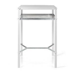 Hope/A, Tavolo in metallo, per esterno ed interno