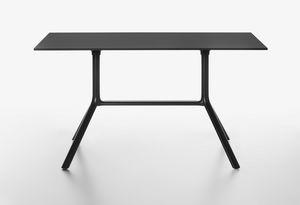 Miura mod. 9586-01 / 9587-01, Tavolo rettangolare con piano pieghevole