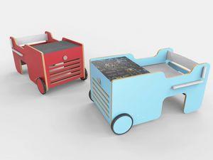 Brumm, Tavolo per bambini a forma di auto