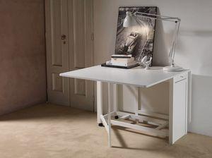 Art. 750 Party, Tavolo pieghevole, con vano per sedie