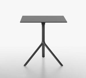 Miura I tavolo bistro quadrato, Tavolino quadrato con piano ribaltabile