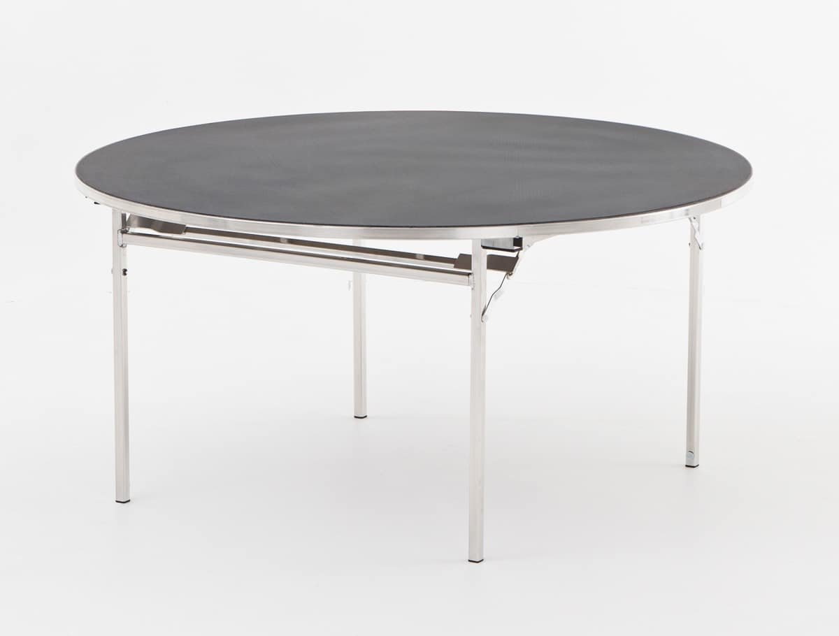 Slimlite BSL18D, Tavolo con struttura pieghevole, per sale conferenze