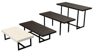 Trans-Pose, Tavoli modulari per uso contract