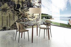 s09 menelao, Tavolo da soggiorno, personalizzabile