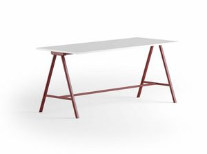 Surfy High Desk 2027, Tavolo alto per ufficio