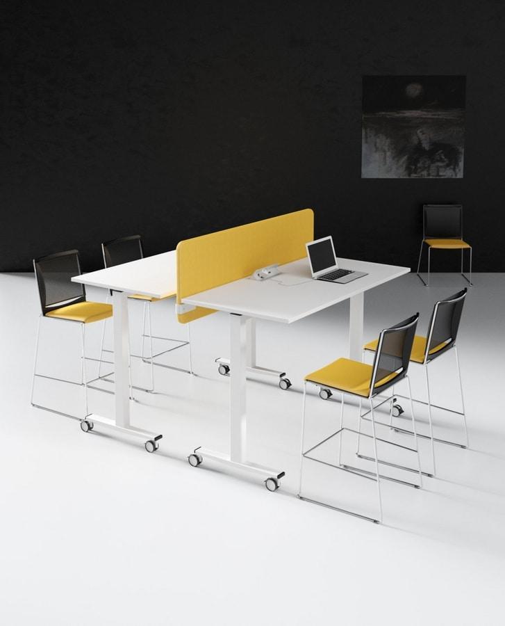 Telemaco A, Tavolo alto per ufficio