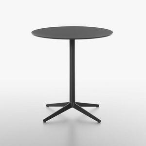 Mister-x mod. 9506-51 / 9506-01 / 9506-71 / 9507-51 / 9507-01 / 9507-71, Tavolino design con base in ghisa verniciata, per uso contract