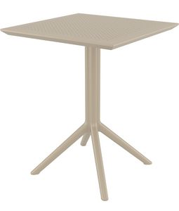 Bistrot-Fold, Tavolo da esterno con piano pieghevole