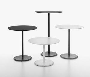 Bon mod. 9380-01 / 9380-1 / 9380-71, Collezione di tavoli da bar, base in ghisa, piano tondo
