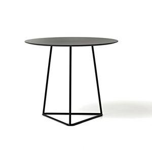 Circuit tavolino, Tavolino in metallo verniciato, top in laminato